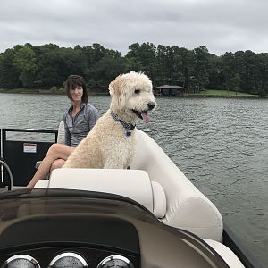 Maiden Voyage at our lake property