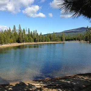 Wickiup Reservoir Camp Spot...