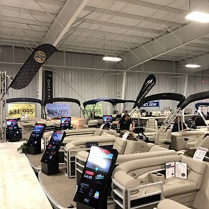 Columbia South Carolina boat show.