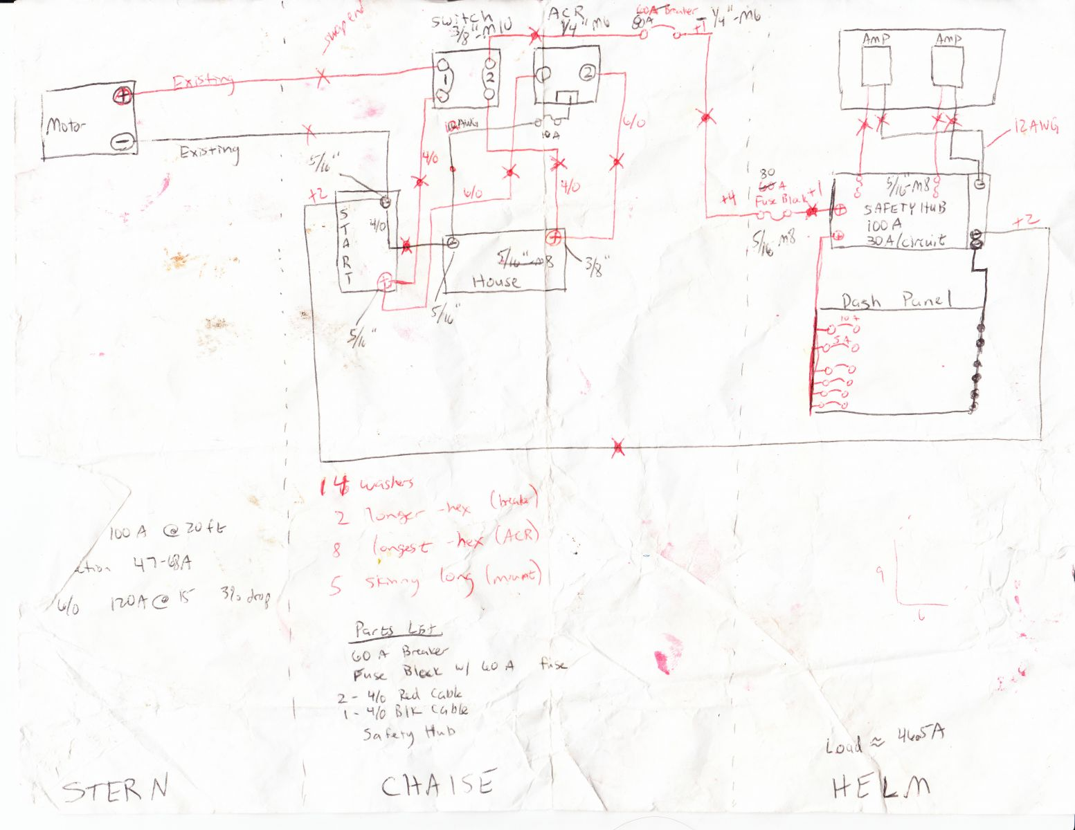 Wiring Diagram of Blue Seas mini-add-a-battery install